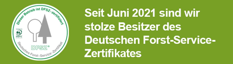 Download-Link zum Deutschen Forst-Service-Zertifikates